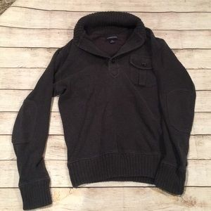 Men's Land's End Charcoal Gray Sweater (S 34-36)
